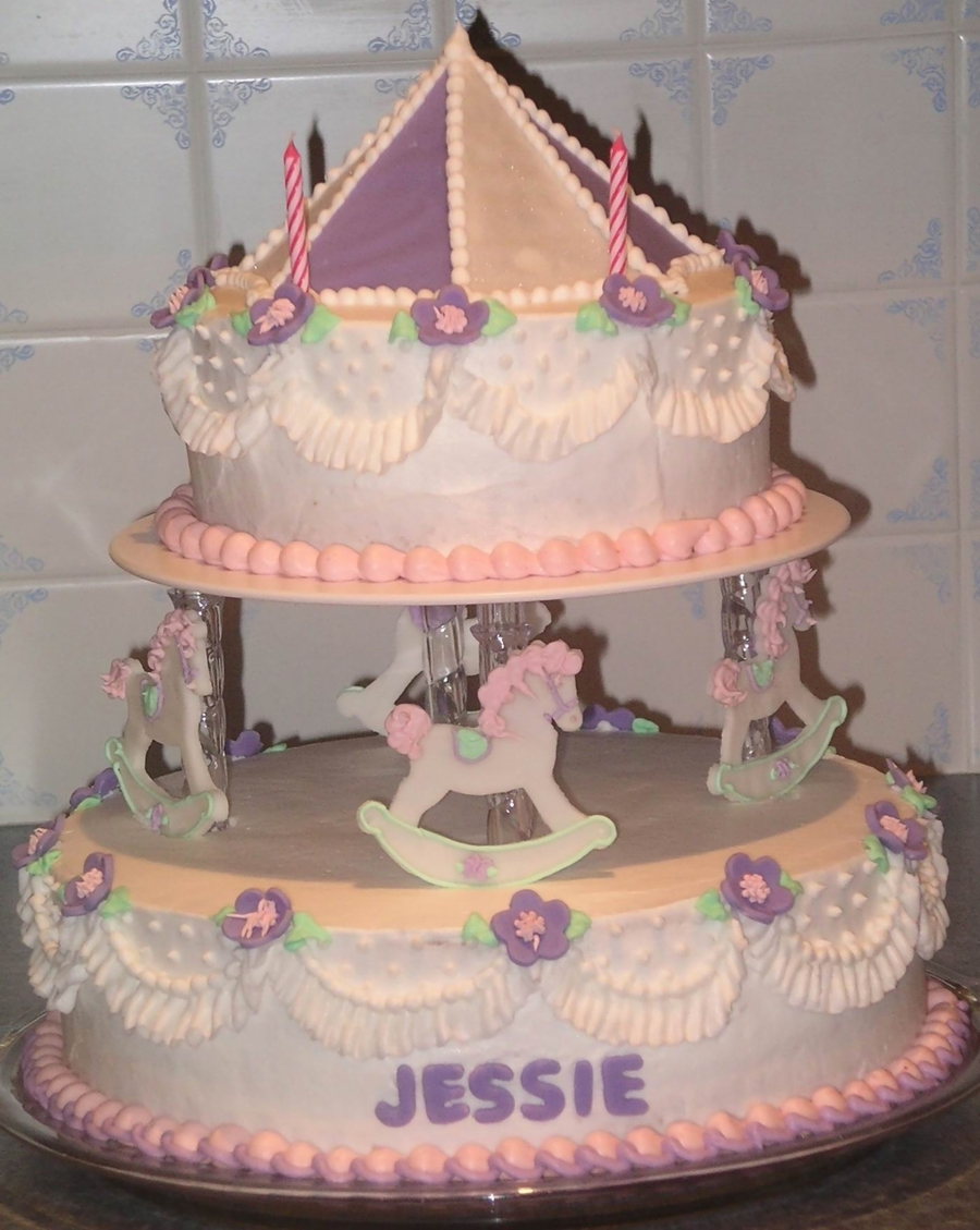 Carousel Birthday on Cake Central