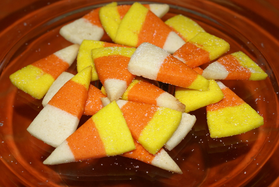 Candy Corn Cookies on Cake Central