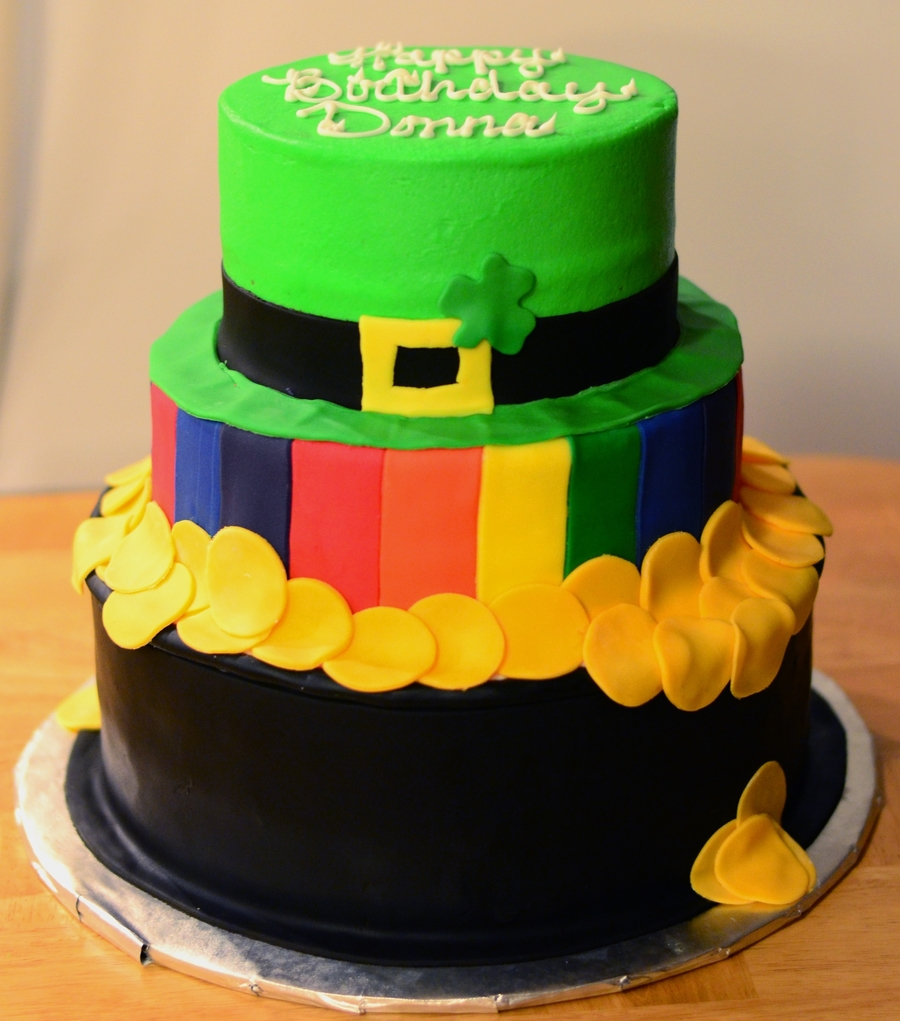 St. Patricks Day Theme on Cake Central