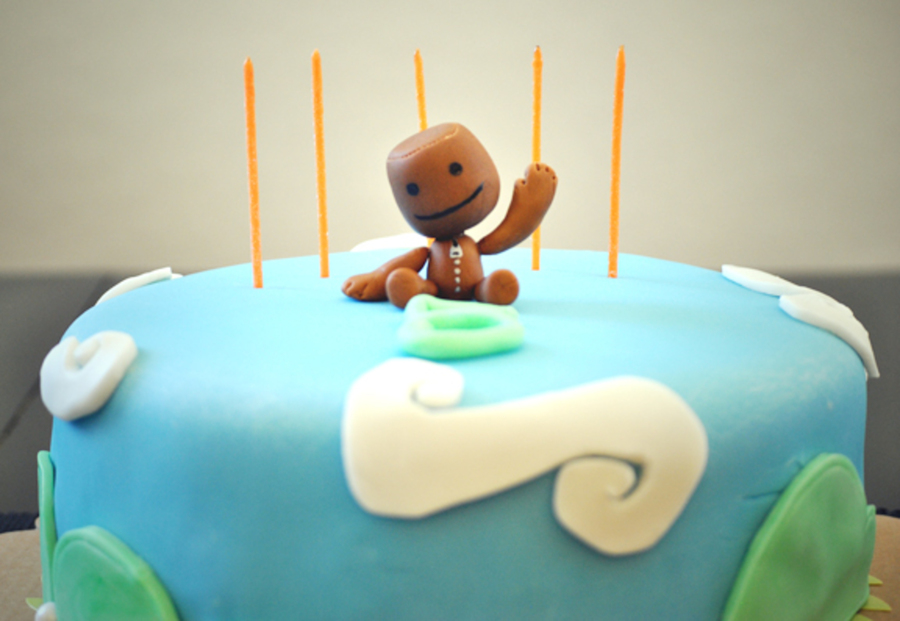 Astonishing Little Big Planet 5Th Birthday Cake Cakecentral Com Birthday Cards Printable Riciscafe Filternl
