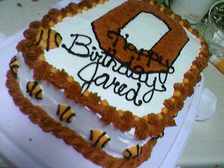 Terrific Ohio State Basketball Themed Birthday Cake Cakecentral Com Funny Birthday Cards Online Benoljebrpdamsfinfo