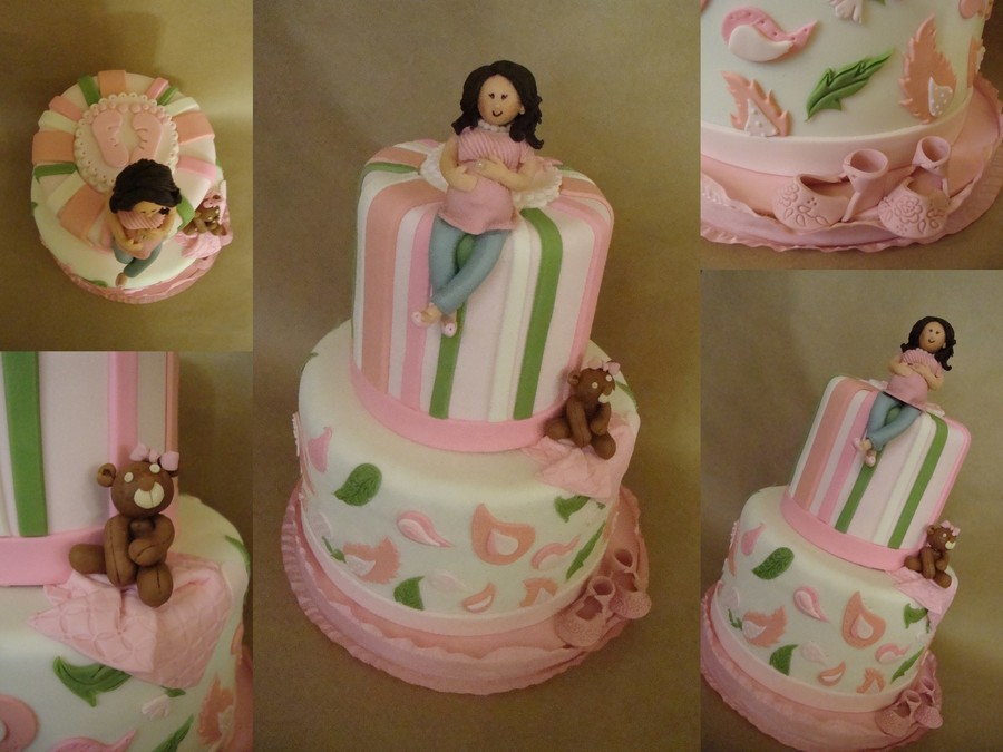 Pregnant Mommy To Be Cake on Cake Central