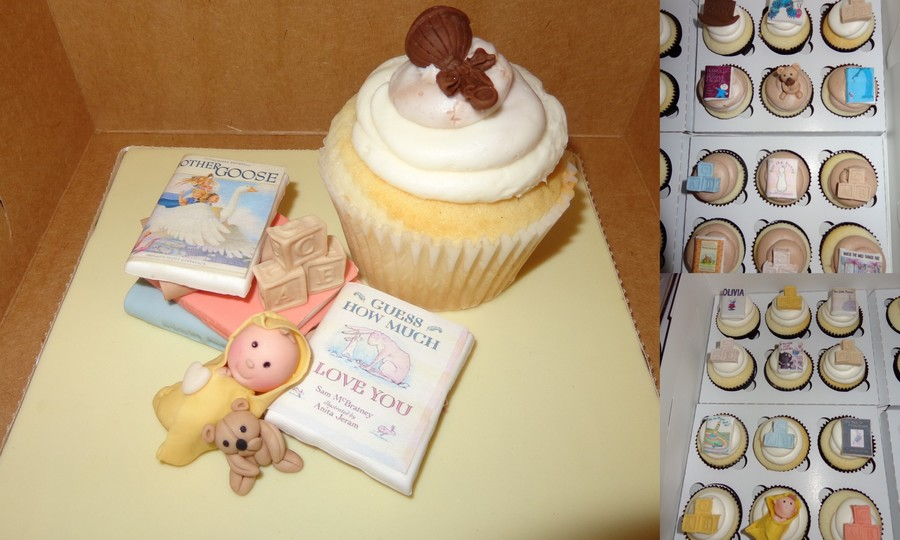 Baby Shower Cupcakes on Cake Central