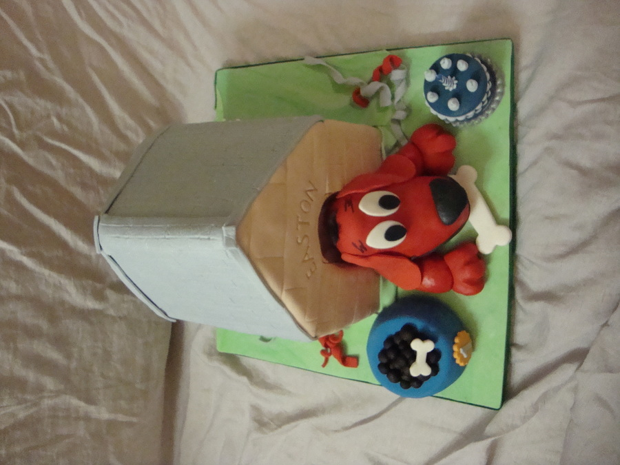 Clifford The Big Red Dog on Cake Central