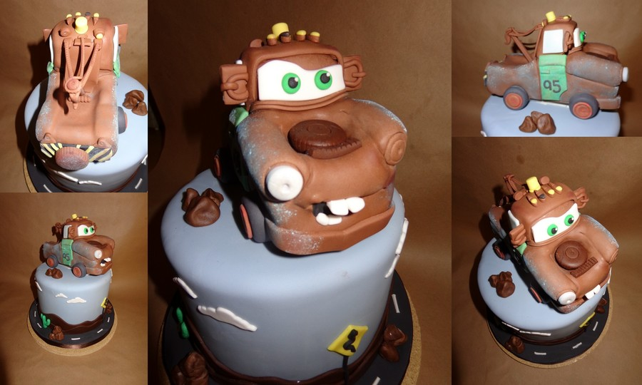 Snake And Mater on Cake Central