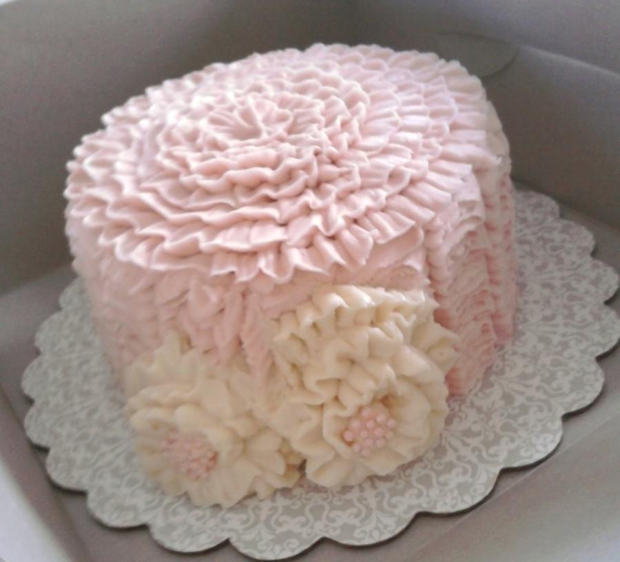 Miraculous Shabby Chic Birthday Cake Cakecentral Com Personalised Birthday Cards Vishlily Jamesorg