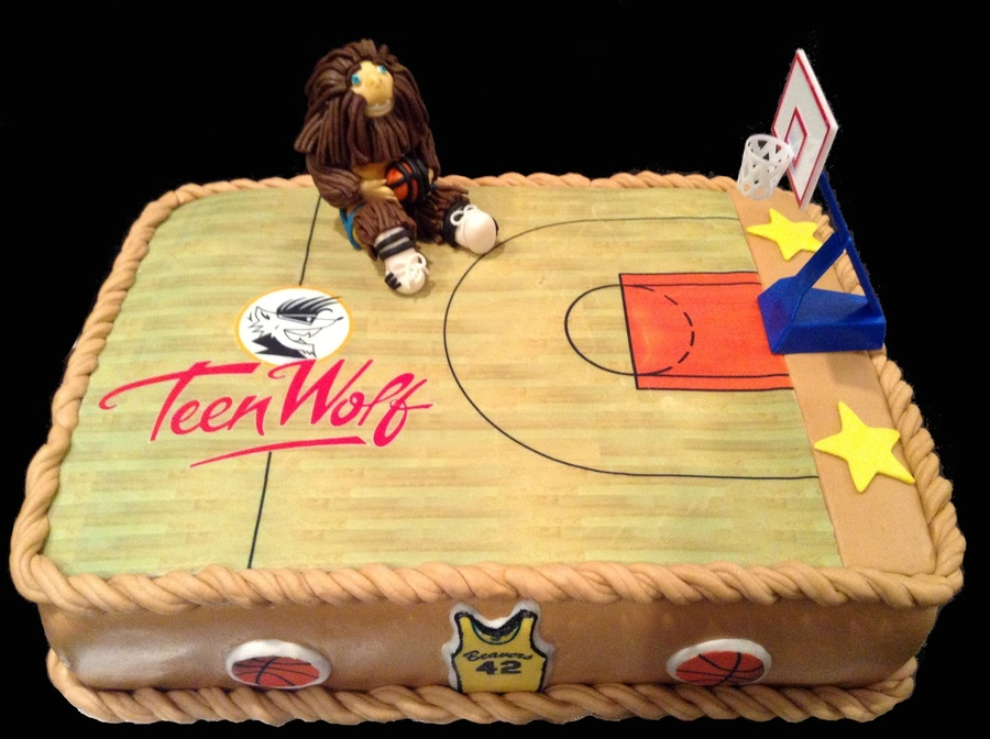 Teen Wolf Cake on Cake Central