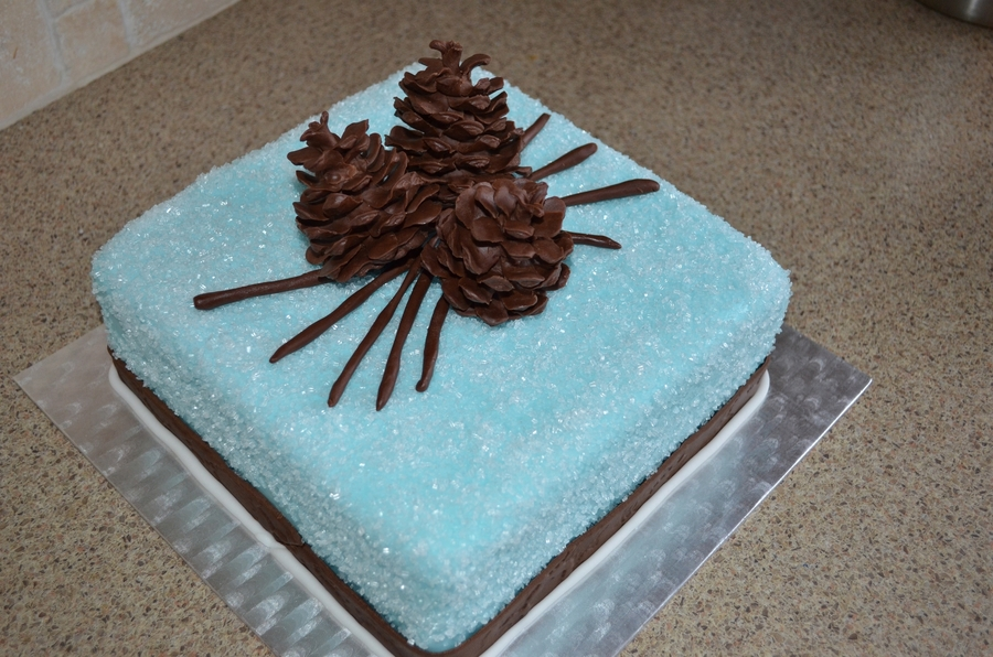 Christmas Pine Cones on Cake Central