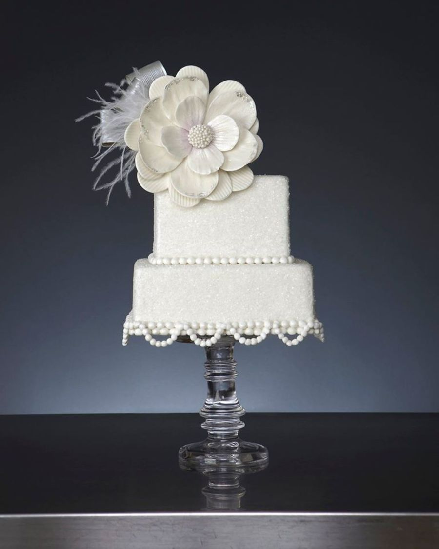 White Night Wedding on Cake Central