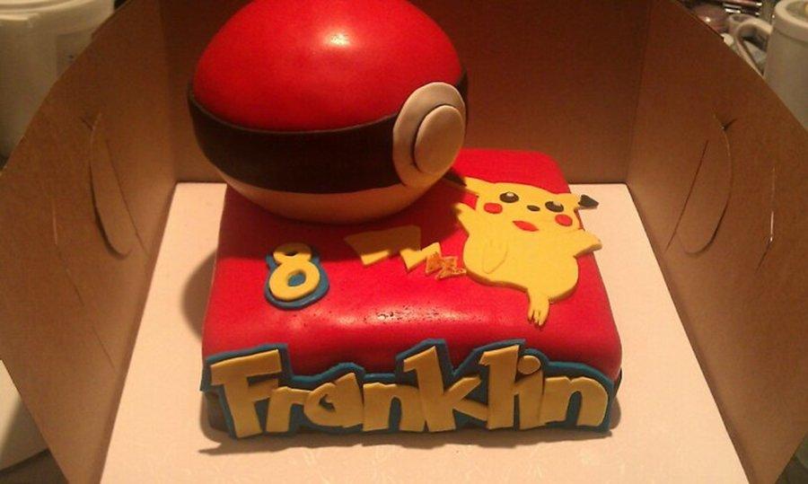 Pokemon Birthday Cake Cakecentral Com