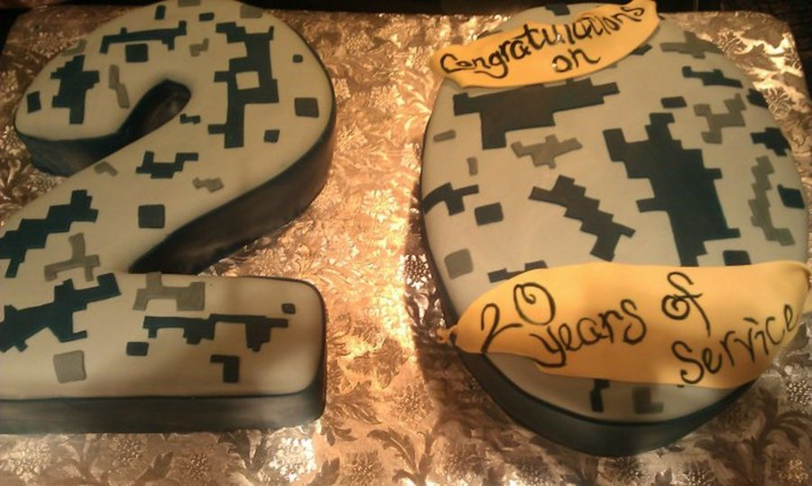 Navy Retirement on Cake Central