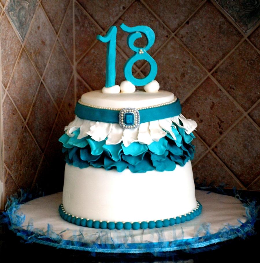 18th Birthday Cake Cakecentral Com