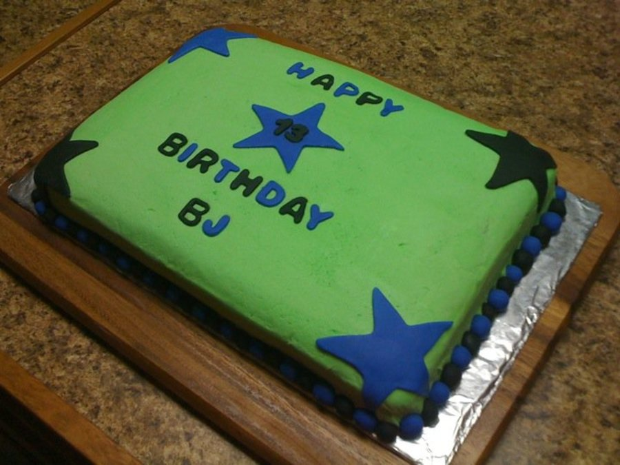 Birthday Cake For Teen Boy On Central