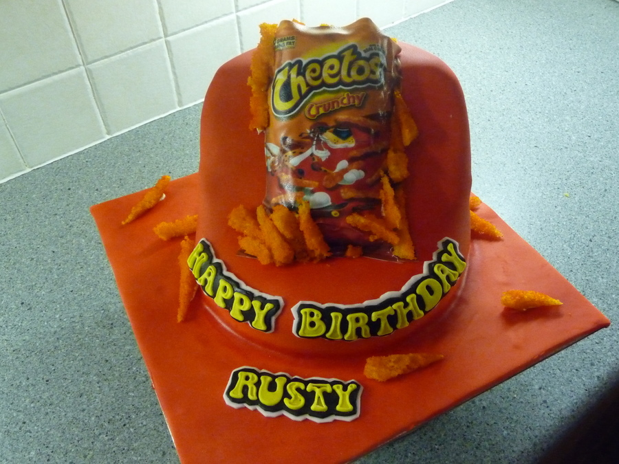 Cheetos on Cake Central