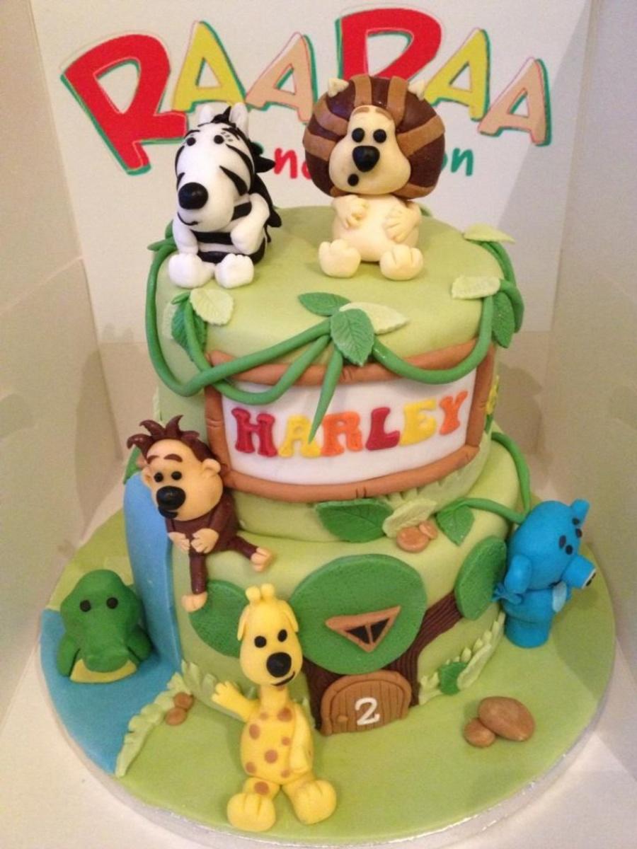 Childrens Lion Cake Recipe
