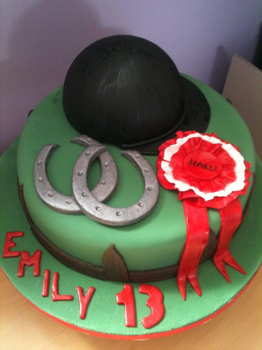 Horse Riding Birthday Cake CakeCentralcom