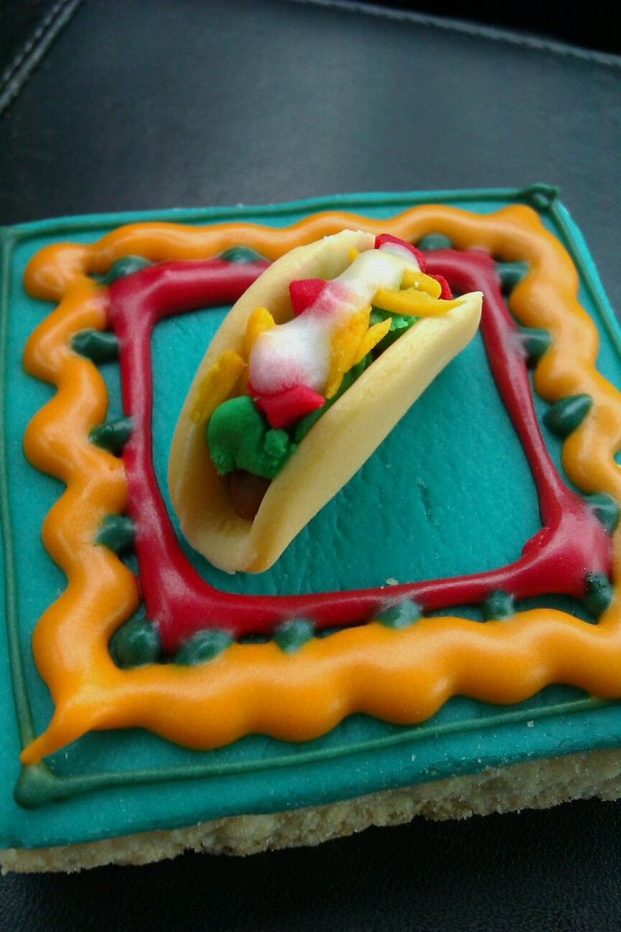 Taco Cookie on Cake Central