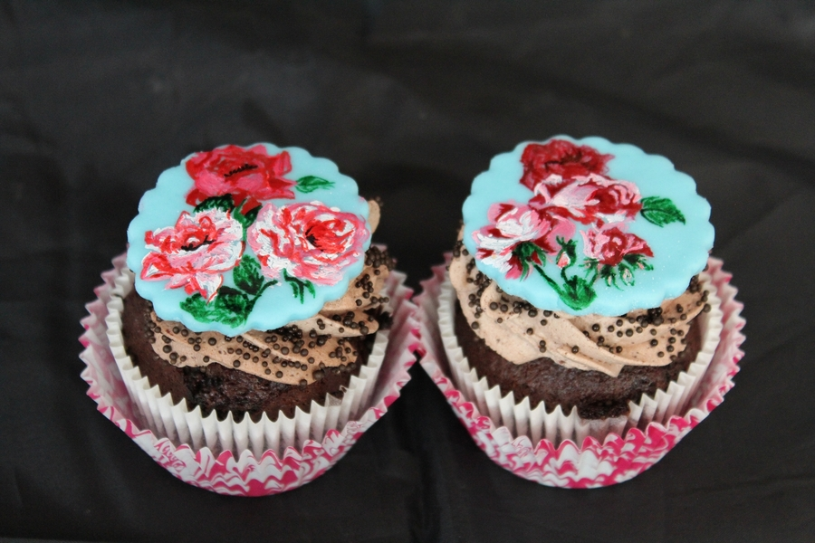 Roses Cupcakes on Cake Central