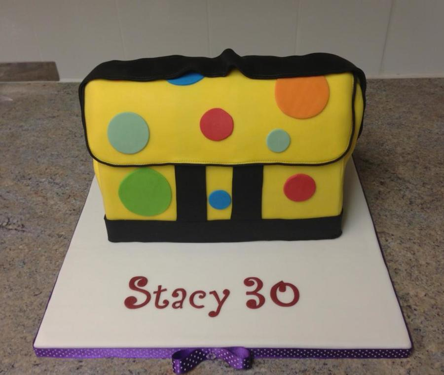 Mr Tumble\'s Spotty Bag - CakeCentral.com