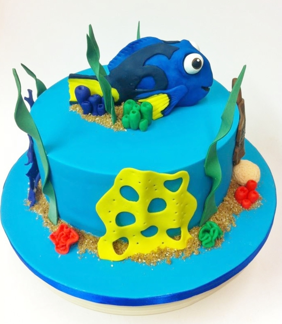Dory Finding Nemo Cake - CakeCentral.com