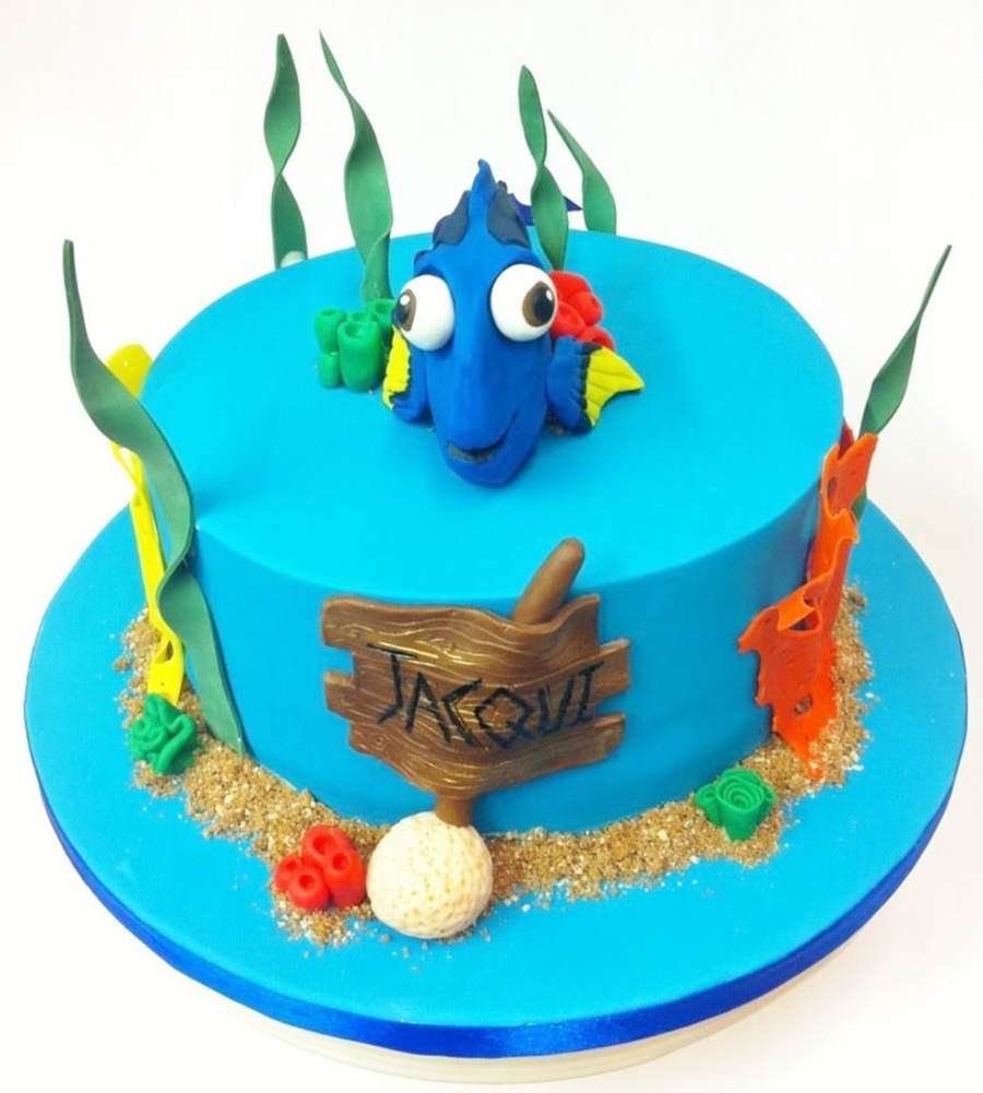 Ideas For Finding Dory Birthday Cake