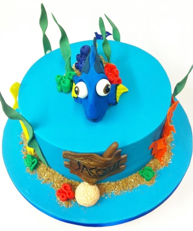 Cake Decorations Nemo : Dory Finding Nemo Cake - CakeCentral.com