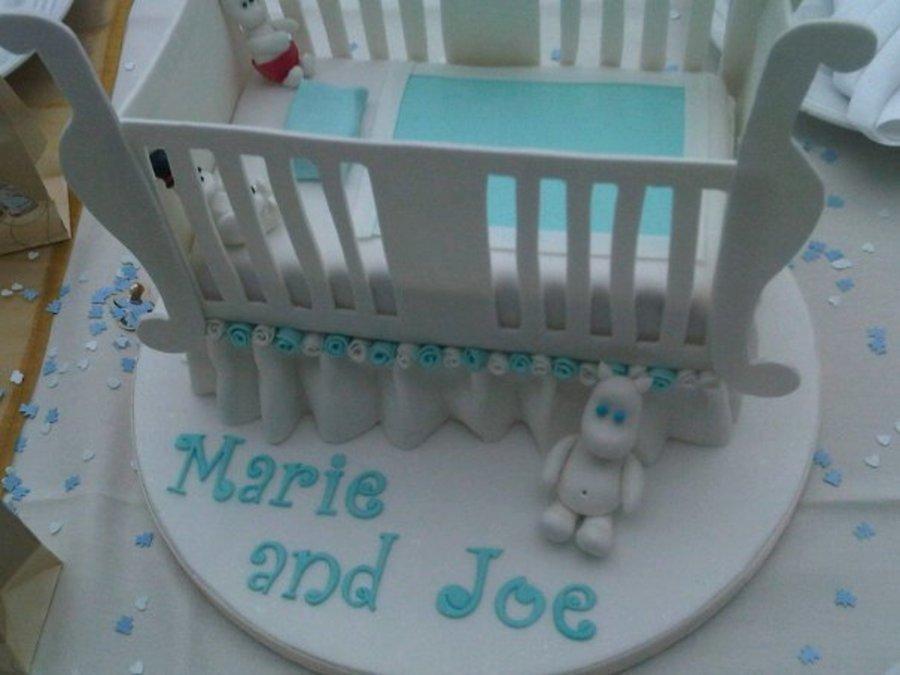 Baby Shower Crib Cake Cakecentral Com