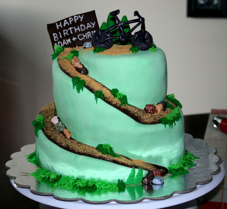 Mountain Biking Cake Cakecentral Com