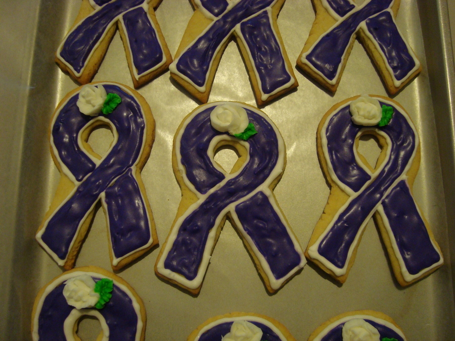 American Cancer Society Cookies  on Cake Central