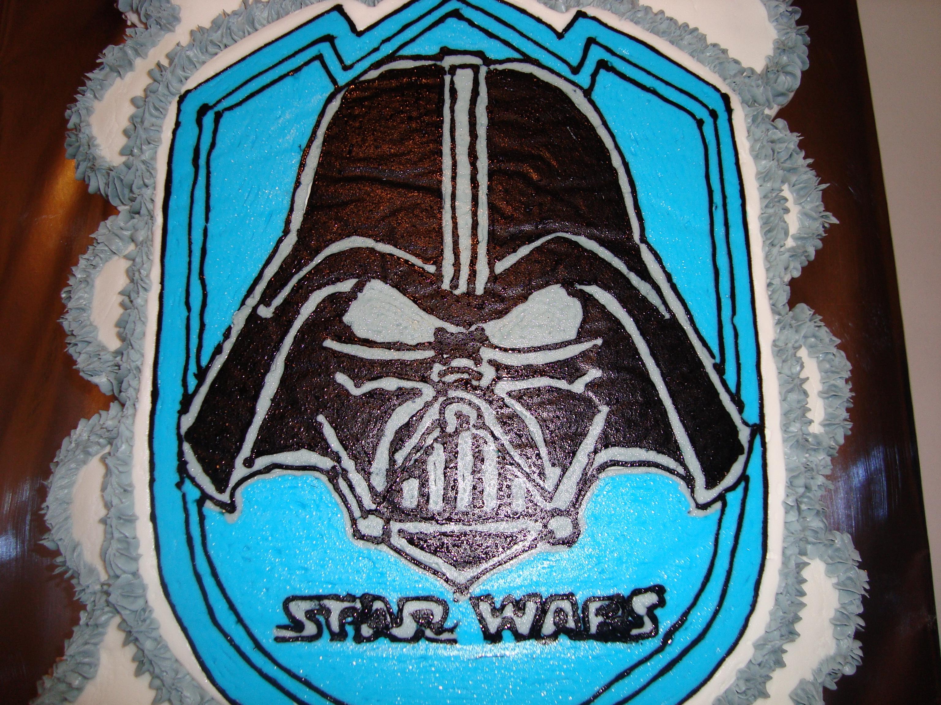 Star Wars Darth Vader Cupcake Cake Cakecentral Com