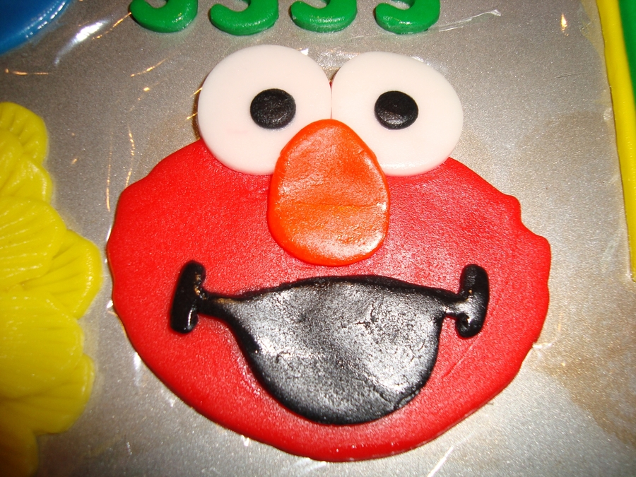 Sesame Street Elmo Big Bird Amp Cookie Monster Birthday