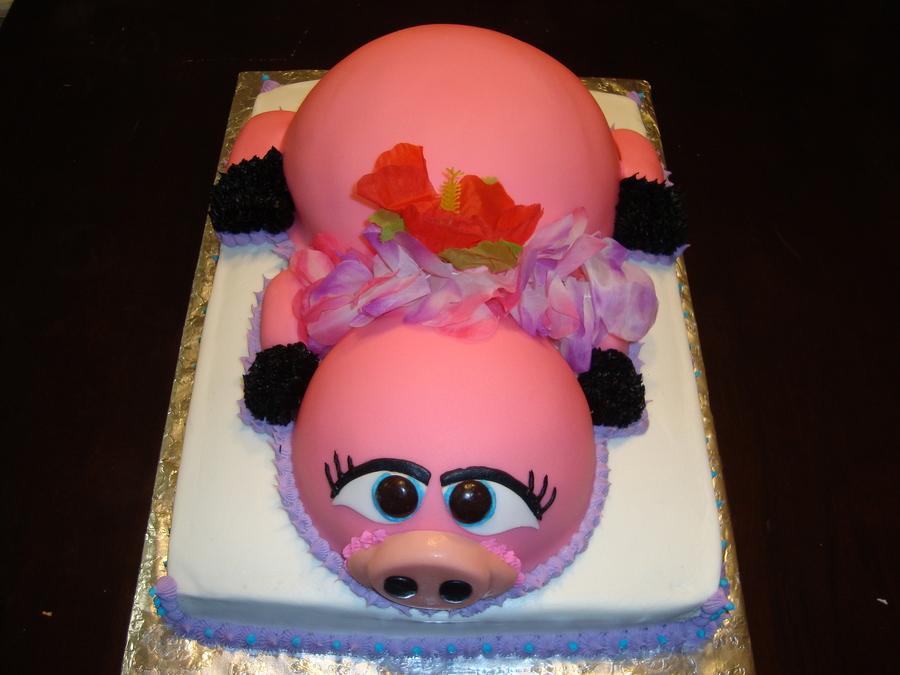 Luau Pig Cake Cakecentral Com
