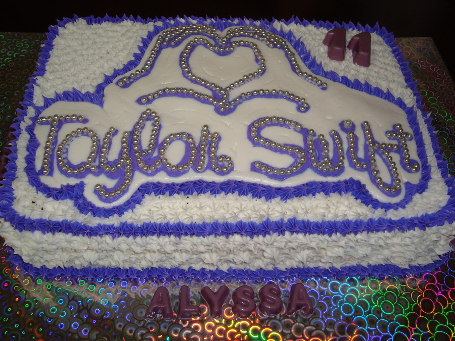 Taylor Swift Birthday Cake Cakecentral