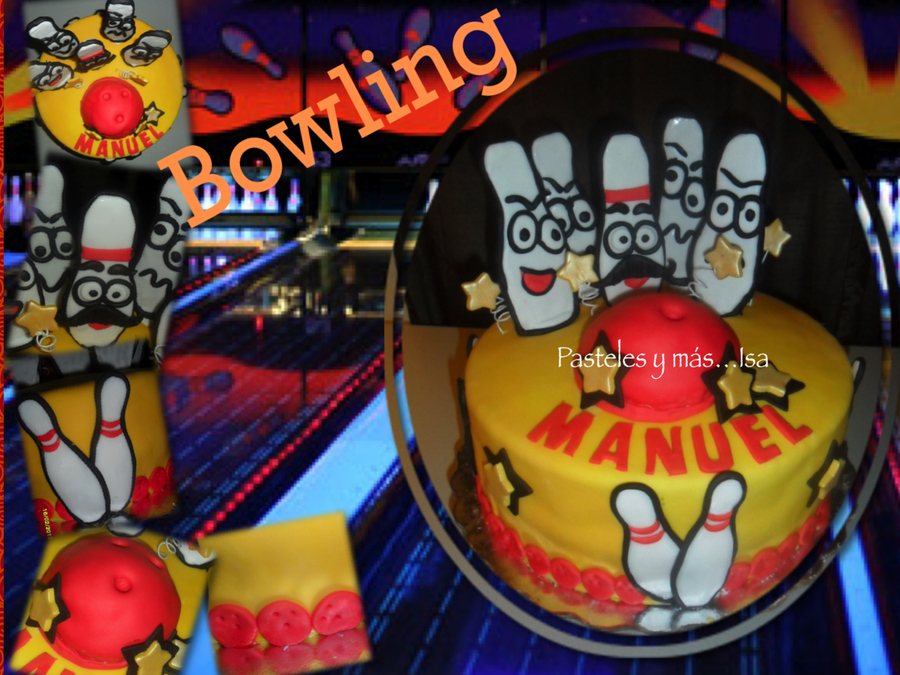 Bowling - Boliche Cake on Cake Central