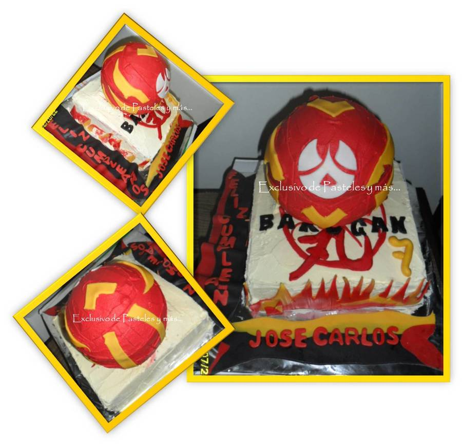 Bakugan on Cake Central