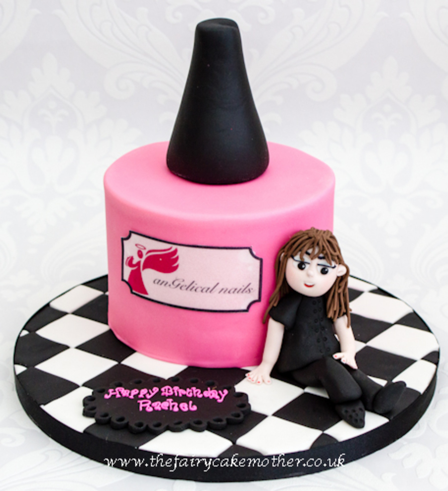 Technically Not Shoes Clothing Or Handbags But This Was A Very Girly Cake And It Seemed The Most Relevant Category To Upload To on Cake Central