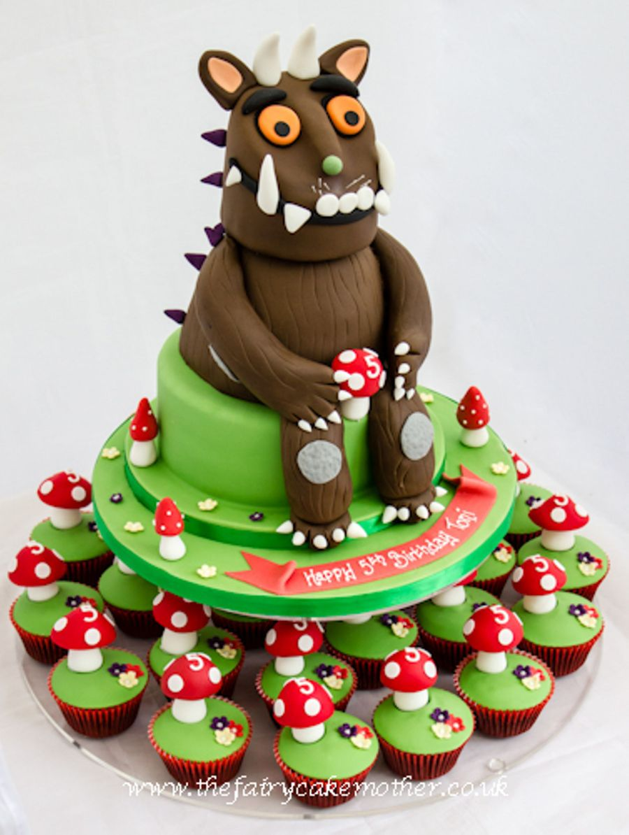 Gruffalo Cupcake Tower Small 1 on Cake Central