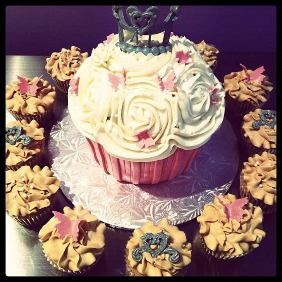 Cupcake For A Princess! on Cake Central