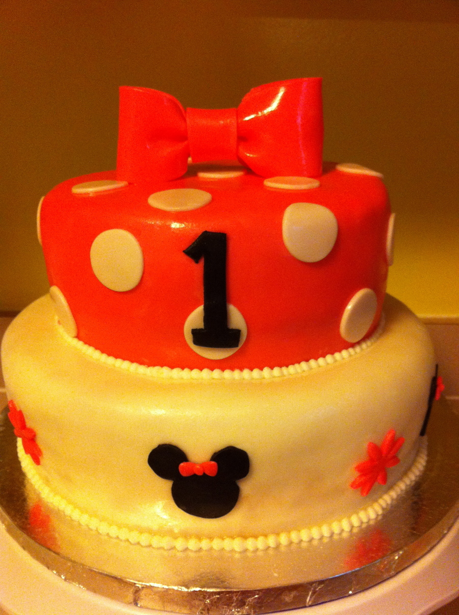 minnie mouse 1st birthday smash cake cupcakes cakecentral 1st