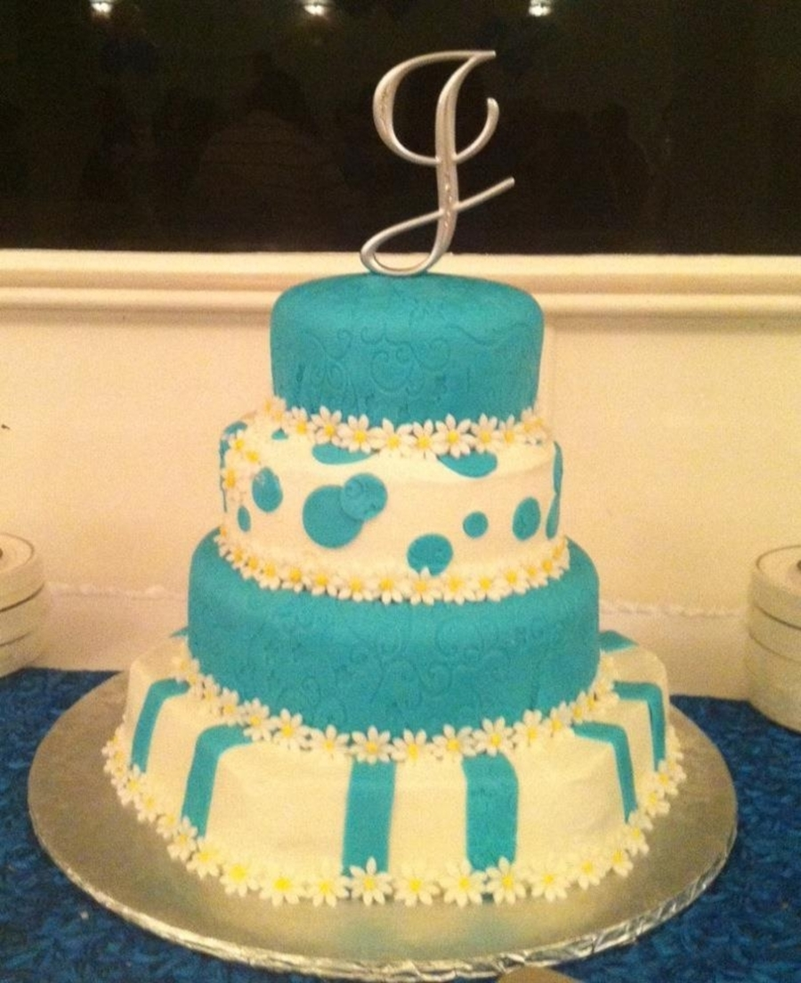 Turquoise on Cake Central