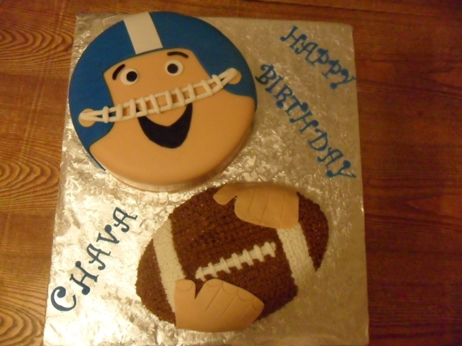 Football Player on Cake Central