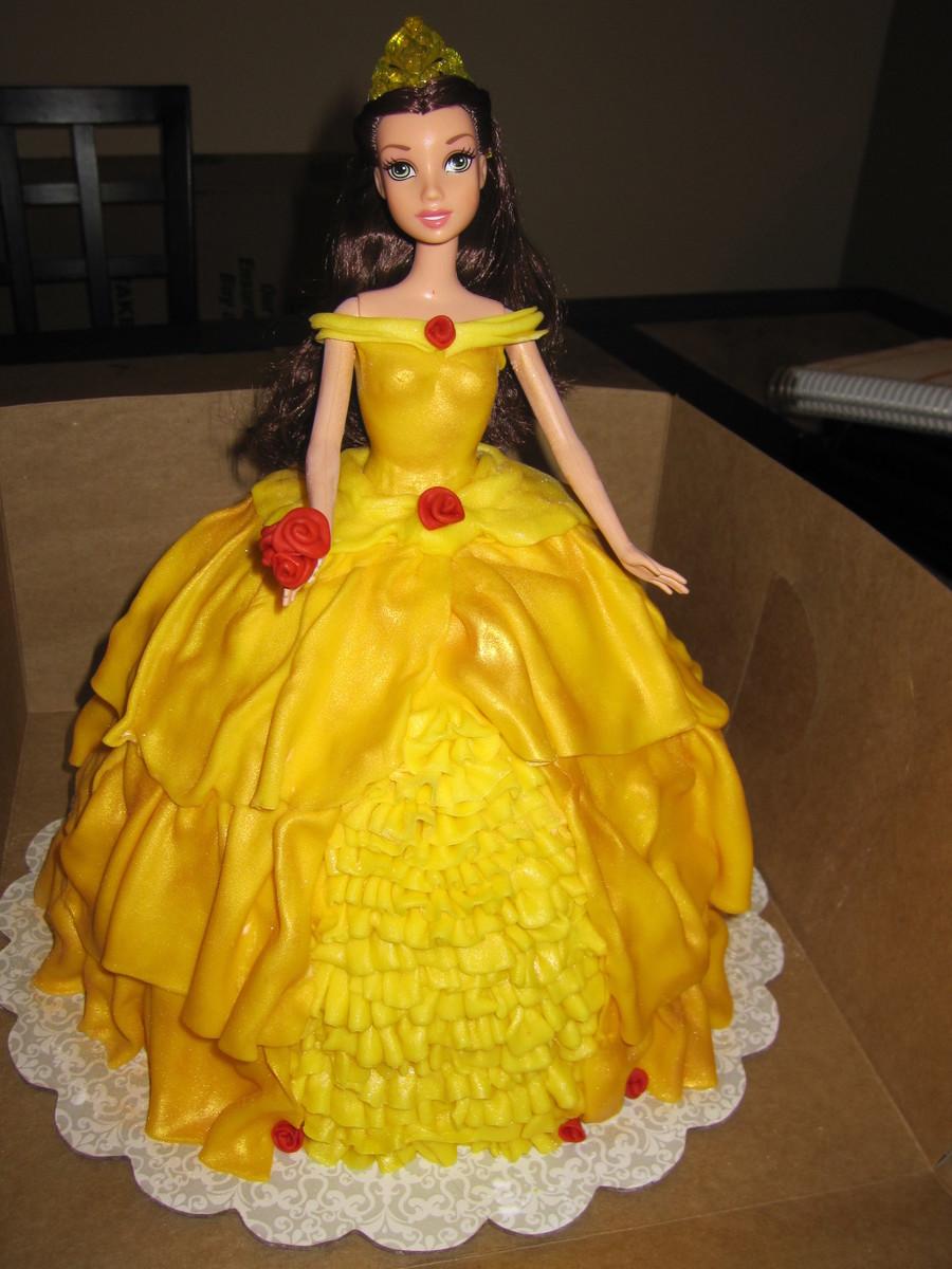 How To Make A Princess Belle Cake