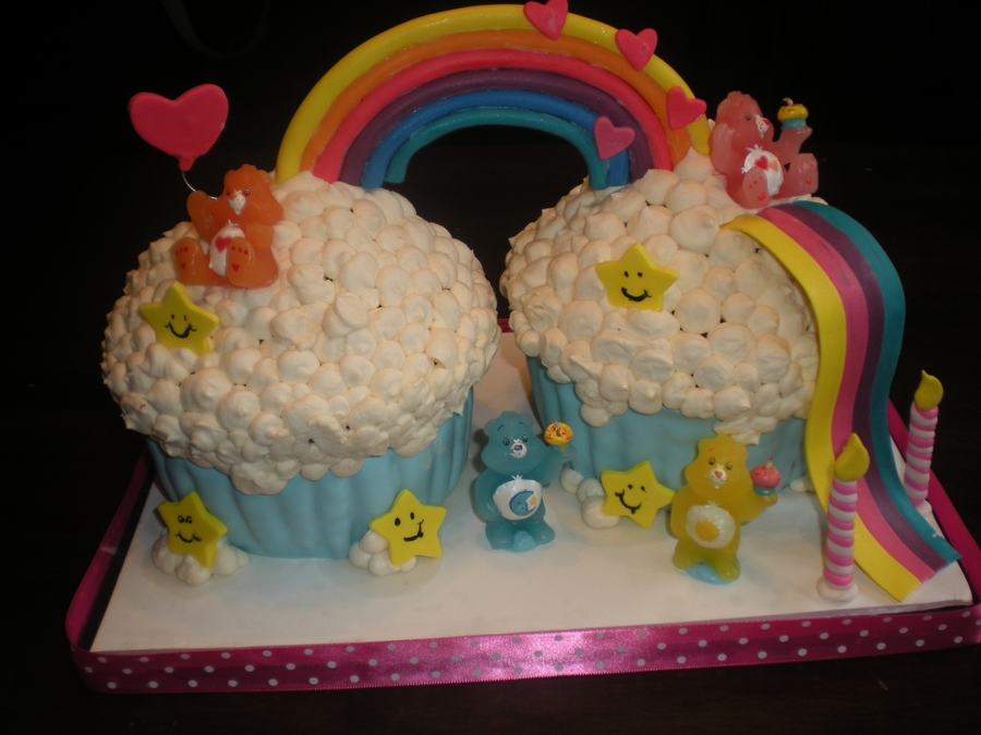 Care Bear Giant Cupcakes on Cake Central