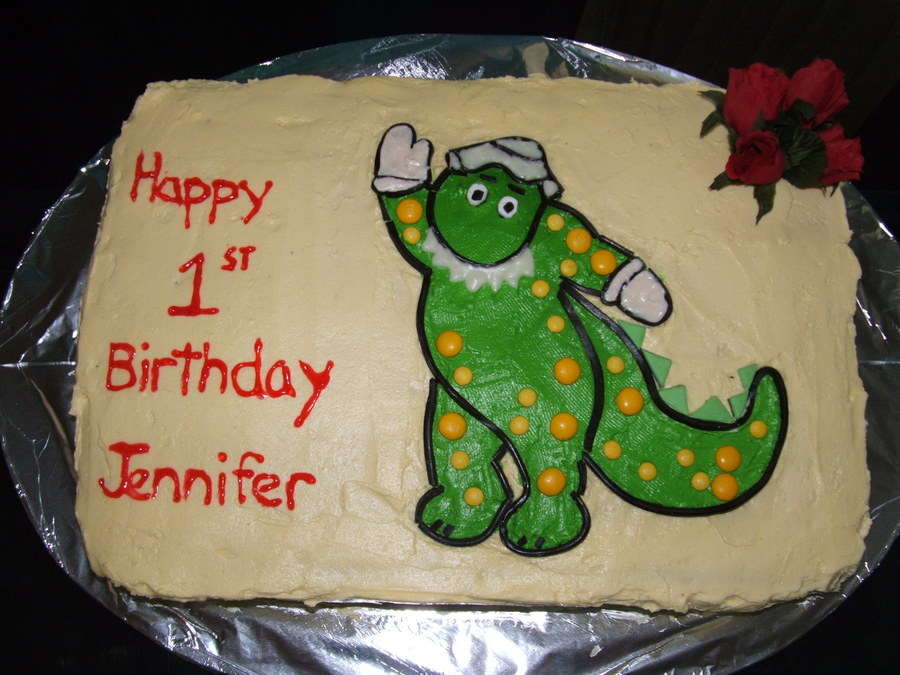 Dorothy The Dinosaur on Cake Central
