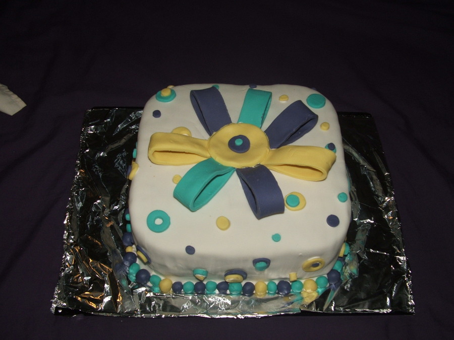 Spots,dots And Bows on Cake Central