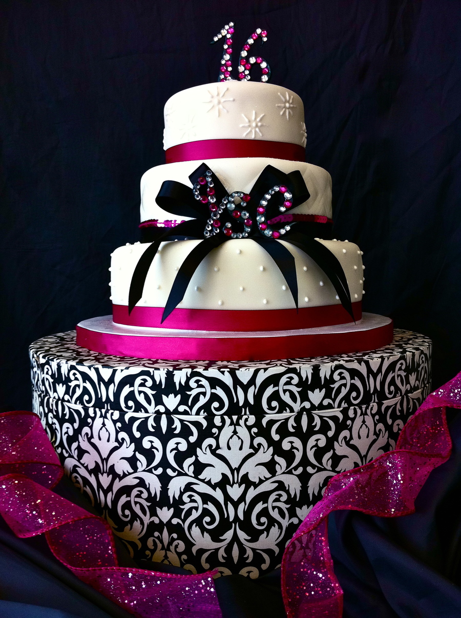 Masquerade Cakes Black And White