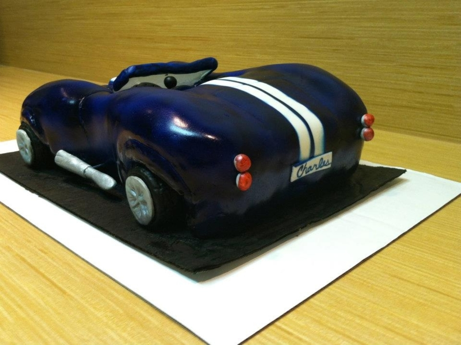 Shelby Cobra Cake CakeCentralcom