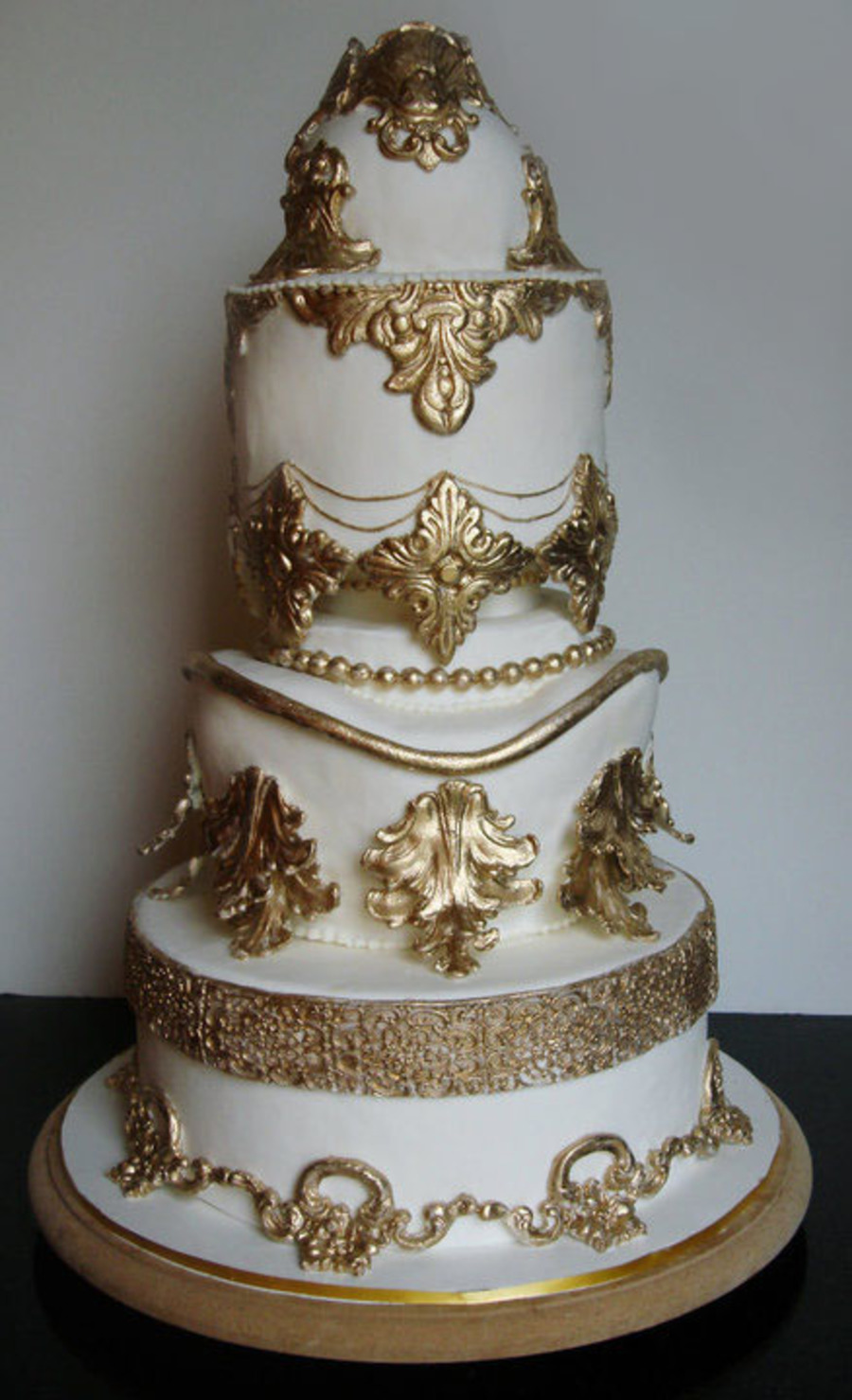 Baroque Style Cake on Cake Central
