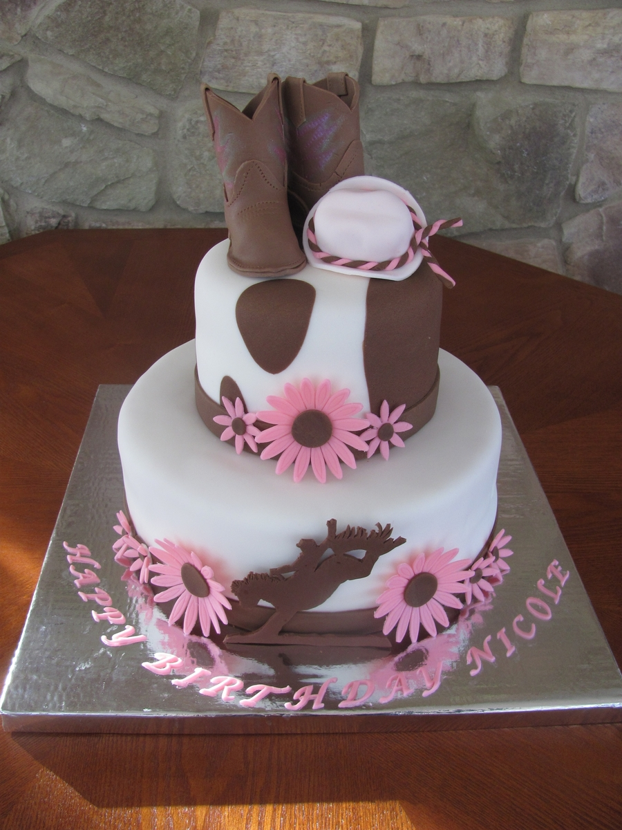 Cowgirl Cake Cakecentral Com