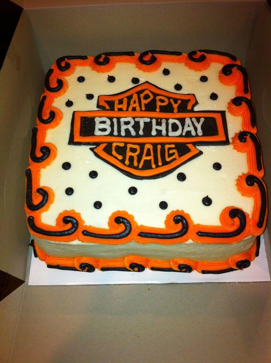 Harley Davidson Birthday Cakecentral Com